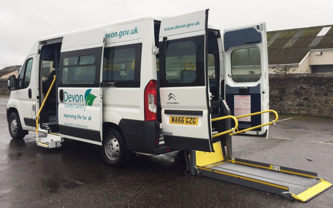Devon County Council Enhances Community Transport Vehicles