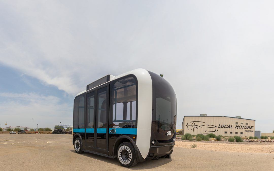 Doors By UK Manufacturer Used In World's First Cognitive, Self-Driving Vehicle