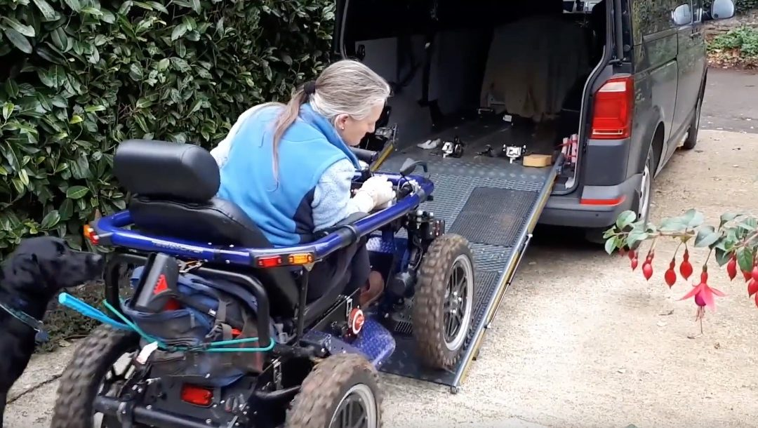 Independent Living Made Possible With New Wheelchair Ramp Design
