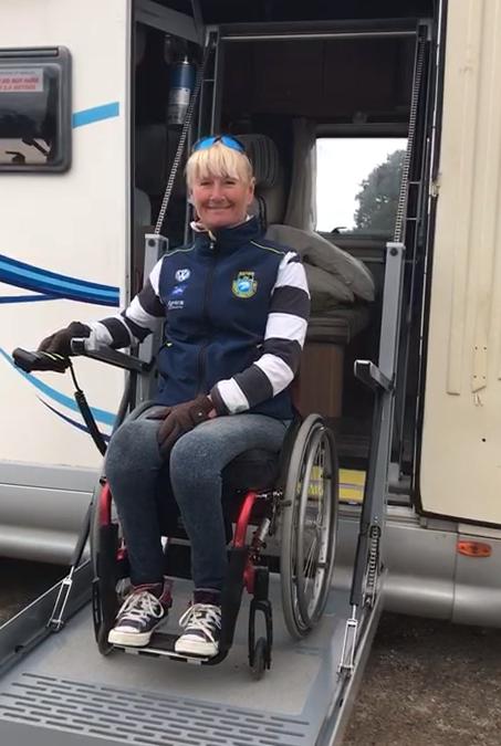 Bespoke Unlite Ricon Wheelchair Lift Made For Motorhome
